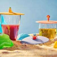 Lurch Sommerdeckel Beach Kids, 3er-Set