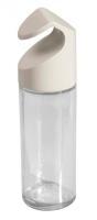 Emsa Ersatz-Gewürzglas aus Glas/Kunststoff weiß