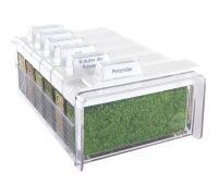 Emsa Gewürz-Kartei Spice Box Kräuter mit 6 Gewürzen in weiß