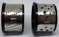 GEFU Ersatzreibe grob/fein für Trommelreibe Pecorino Laser Cut, 2er Set