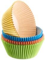 Westmark 80 Muffin Papier-Backförmchen, 4-farbig sortiert
