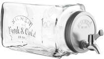 Kilner Kühlschrank Getränkespender mit Zapfhahn, 3 Liter