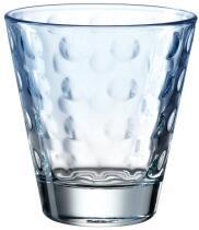 Leonardo Trinkglas OPTIC 215 ml hellblau, 6er-Set