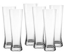 Leonardo Weizenbierglas Bionda Bar, 6er Set