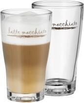 WMF Latte Macchiato Glas Set 2 Stück Barista