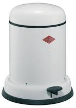 Wesco Baseboy 8 Liter mit Dämpfer in weiß