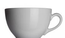 Classic Milchkaffeetasse von Porzellanfabrik Walküre, weiß