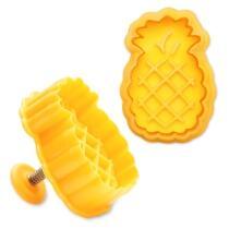 Städter Kunststoff-Ausstecher-Form Ananas 5 cm Gelb