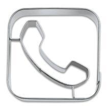 Städter Ausstechform App-Cutter Phone 6,5 cm