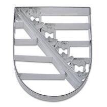 Städter Ausstechform Sachsen Wappen 9,5 cm