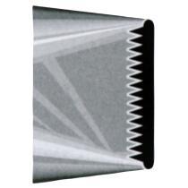 Städter Tülle Randtülle 45 mm glatt / gezackt sehr breit