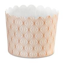 Städter Papierform Vanilla Diamonds ø 6/7 cm / H 5,5 cm Bunt Maxi 12 Stück