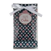 Städter Pralinenhelfer All You Need Is Cake 9 x 25 cm Transparent Set, 24-teilig