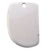 Städter Backhelfer Teigschaber 8,5 x 12,5 cm Weiß