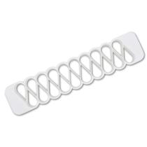 Städter Kunststoff-Ausstecher-Form Mutzenmandel 30 x 6,5 cm /H 2,5 cm Weiß