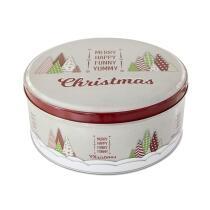 Städter Gebäckdose Yummy Christmas ø 16,5 cm / H 8 cm Bunt Rund