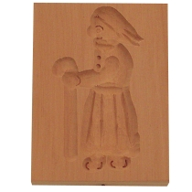 Städter Holzserie Hexe 5,5 x 8 cm