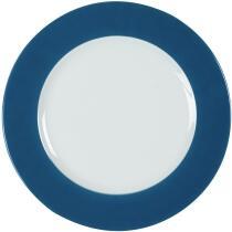 Eschenbach Porzellan Teller flach 31,5 cm in ozeanblau