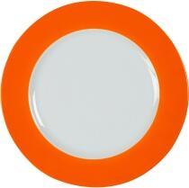 Eschenbach Porzellan Teller flach 20 cm in orange