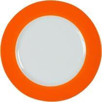 Eschenbach Porzellan Teller flach 31,5 cm in orange