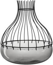 Leonardo Windlicht GIARDINO 2-teilig 24,8 cm schwarz