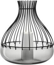 Leonardo Windlicht GIARDINO 2-teilig 28,8 cm schwarz