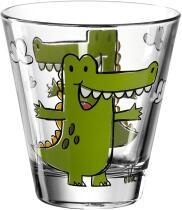 Leonardo Kinderbecher BAMBINI 215 ml Krokodil, 6er-Set