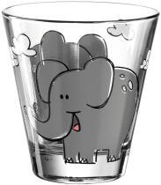 Leonardo Kinderbecher BAMBINI 215 ml Elefant, 6er-Set
