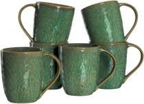 Leonardo Keramiktasse MATERA 430 ml grün, 6er-Set