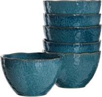 Leonardo Keramikschale MATERA 15,3 cm blau, 6er-Set