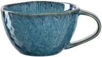 Leonardo Keramiktasse MATERA 290 ml blau, 4er-Set