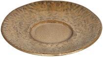 Leonardo Keramikuntertasse MATERA 15 cm beige, 4er-Set
