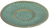 Leonardo Keramikuntertasse MATERA 11 cm grün, 4er-Set