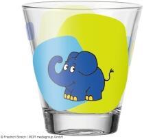 Leonardo Trinkglas BAMBINI 215 ml Elefant, 6er-Set