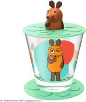 Leonardo Kindertrinkset BAMBINI 3-teilig 215 ml grün Maus