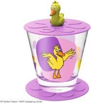 Leonardo Kindertrinkset BAMBINI 3-teilig 215 ml pink Ente