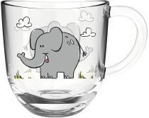 Leonardo Tasse BAMBINI 280 ml Elefant, 6er-Set