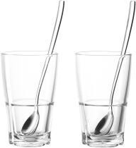 Leonardo Becher/Löffel SENSO 4-teilig 390 ml