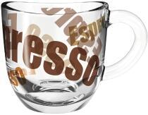 Leonardo Espressotasse NAPOLI 80 ml 3farbig, 6er-Set
