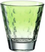 Leonardo Trinkglas OPTIC 215 ml hellgrün, 6er-Set