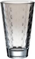 Leonardo Trinkglas OPTIC 300 ml grau, 6er-Set