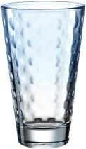 Leonardo Trinkglas OPTIC 300 ml hellblau, 6er-Set