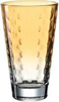 Leonardo Trinkglas OPTIC 300 ml apricot, 6er-Set