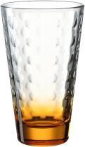 Leonardo Trinkglas OPTIC 300 ml orange, 6er-Set