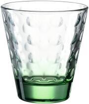 Leonardo Trinkglas OPTIC 215 ml grün, 6er-Set