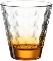 Leonardo Trinkglas OPTIC 215 ml orange, 6er-Set