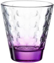 Leonardo Trinkglas OPTIC 215 ml violett, 6er-Set