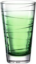 Leonardo Trinkglas VARIO STRUTTURA 280 ml grün, 6er-Set