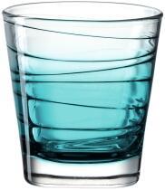 Leonardo Trinkglas VARIO STRUTTURA 250 ml türkis, 6er-Set