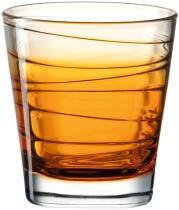 Leonardo Trinkglas VARIO STRUTTURA 250 ml orange, 6er-Set